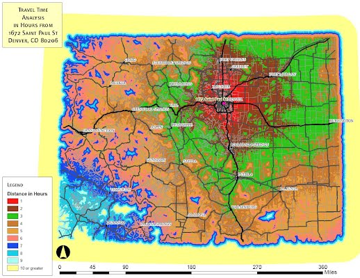 Speed Limit Map Colorado Arizona Map - Map of speed limits in us